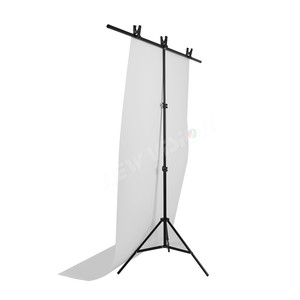 Image 5 - Chụp Ảnh Lớn PVC Phông Nền Hỗ Trợ Đứng Hệ Thống Kim Loại Với 3 Kẹp Tối Đa 152 Cm X 200 Cm
