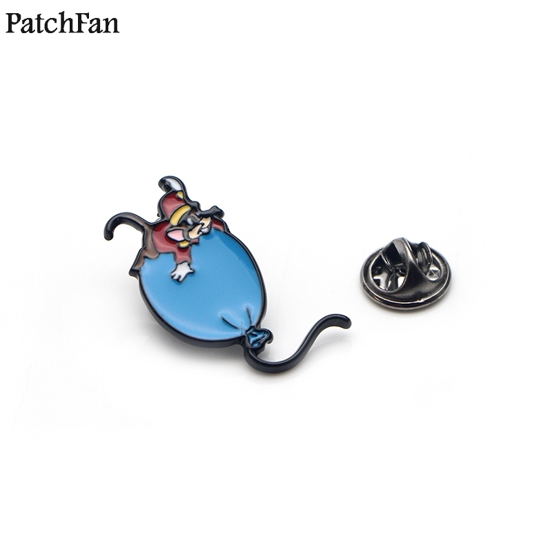 Realistic 20pcs/lot Patchfan Cartoon Mouse Balloon Zinc Tie Diy Funny Pins Backpack Clothes Brooches For Men Women Hat Badges Medal A1376 Online Shop Arts,crafts & Sewing