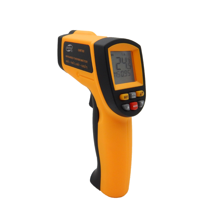 GM700 Digital IR infrared thermometer  Non Contact Laser Point gun infrared thermometer -58 ~700C Free Shipping  цены