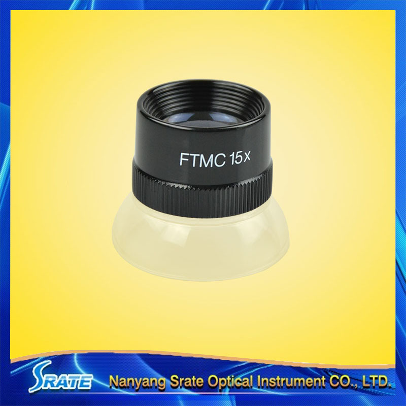 15X Cylindrical Magnifier Portable Plastic Magnifying Glass Loupe for Identification and Observation  цены