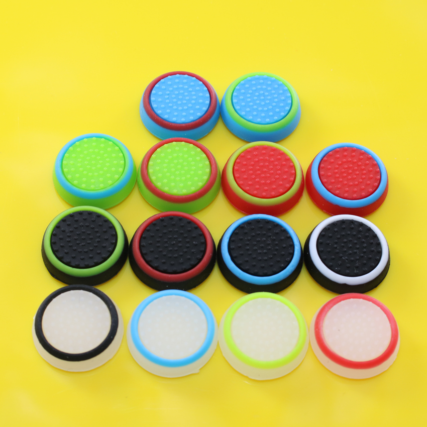 50pcs Silicone Analog Controller Thumb Stick Grips Cap Cover Grip for Sony Play Station 4 PS4 PS3 Xbox one Xbox 360 Thumbsticks