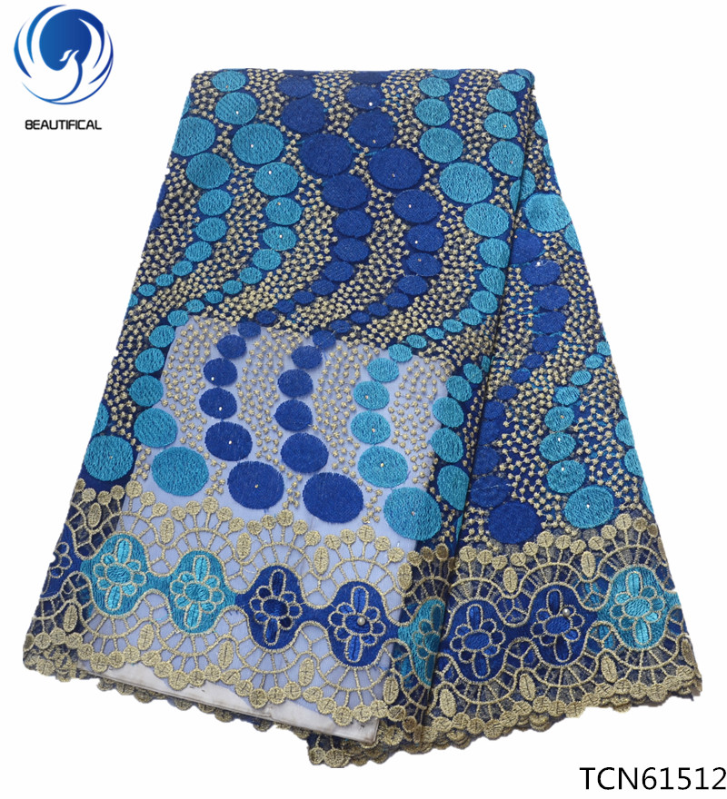 Home & Garden Responsible Beautifical Nigeria French Lace Fabrics Lace Embroidery For Party Dress French Fabric Lace Tulle Fabric African Tcn615