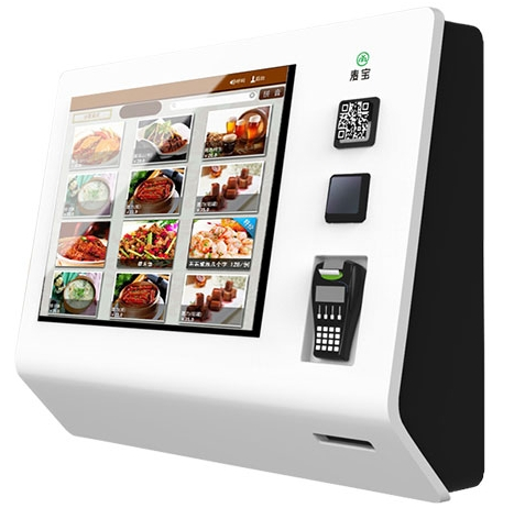 WiFi 3/4g 21.5 Inch Rj45 LCD HD TFT Buffet Meal Self Service Touch Interactive Payment Terminal Digital Signage Monitor Display