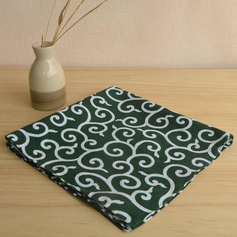Poliéster furoshiki japonês 100%/japão clássico tradição listra impresso 52*52 cm/muitos usos