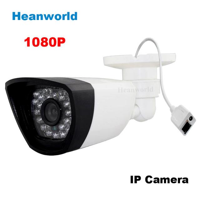 H.264 Onvif 2MP HD 1080 P IP Câmera de Segurança CCTV ip cam sistema de Visão Noturna webcam em rede indoor e ao ar livre para uso doméstico