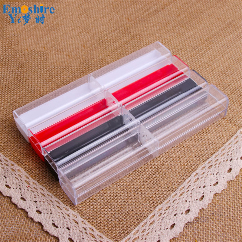 New Arrival Black Plastic Pencil Box Pen Gifts Box Best Stationery School Office Supplies Top Brand Pencil Case B005