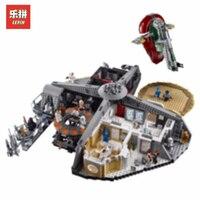 Лепин 05151 3149 шт. UCS Звездные войны предательство в облачный город набор Совместимость Legoing 75222 модель здания Наборы блоки кирпичи игрушка в по
