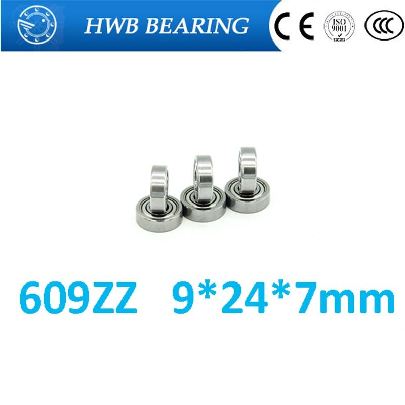 609ZZ 609Z 609-2Z 609 deep groove ball bearing 9x24x7mm miniature bearing 5pcs 628 2z zz bearings deep groove ball bearing 8 x 24 x 8mm