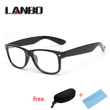 Anti Blue Rays Computer Goggles Reading Glasses Radiation-resistant Glasses Computer Gaming Glasses Black With Case 8081