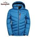 Speed Hiker White Duck Down Jacket Men 2016 New Winter Warm Hood Detached Caulking Waterproof Fashion Style Plus Size 3XL 3063