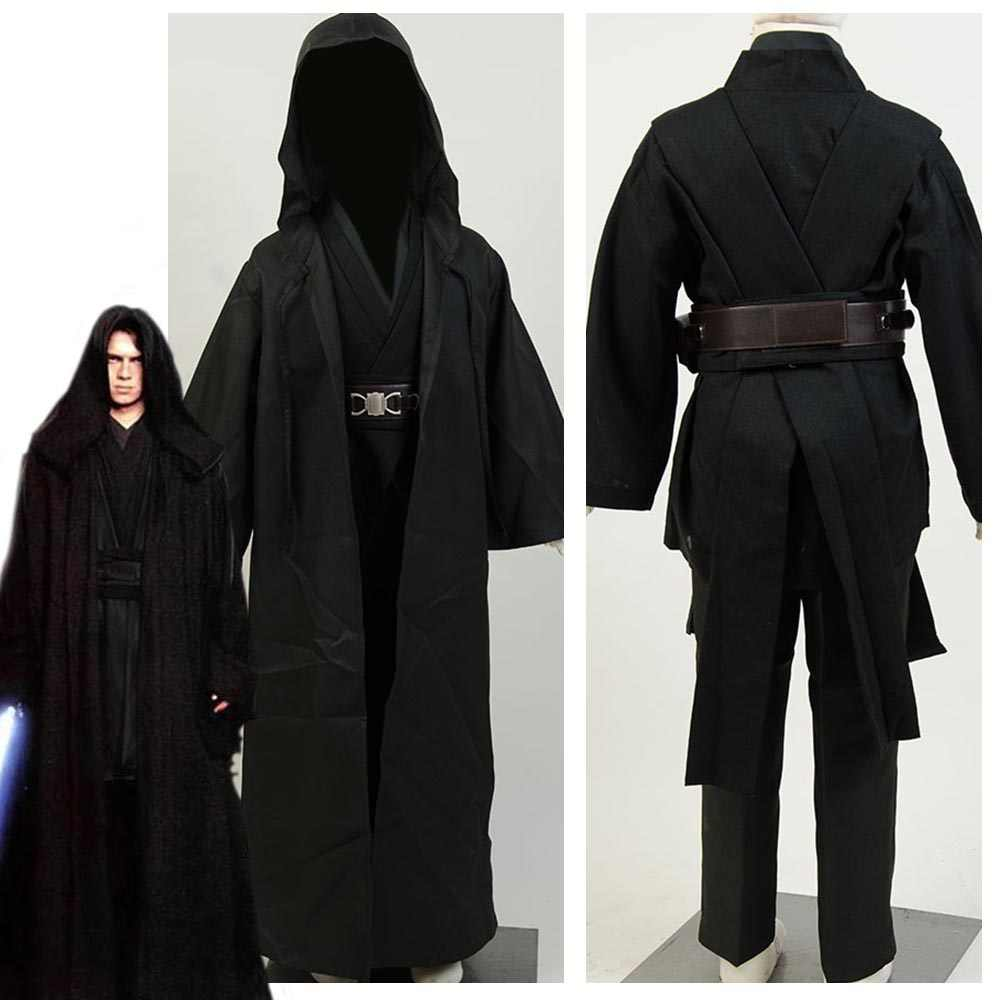 Kind Star Cosplay Wars Sith Herr Anakin Skywalker Cosplay Kostüm Halloween Kinder Kostüme Outfit