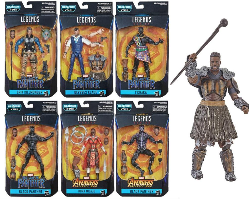 Figurine 6 ''Marvel légendes black panther édition limitée livraison gratuite