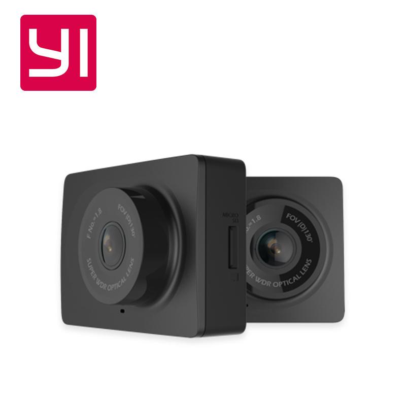 Prix pour D'origine Xiaomi YI Smart Voiture DVR sans fil WiFi Xiaoyi Dash Caméra 130 Degrés 1080 P 30fps 2.7 Pouces Voiture Caméra pour Android et iOS