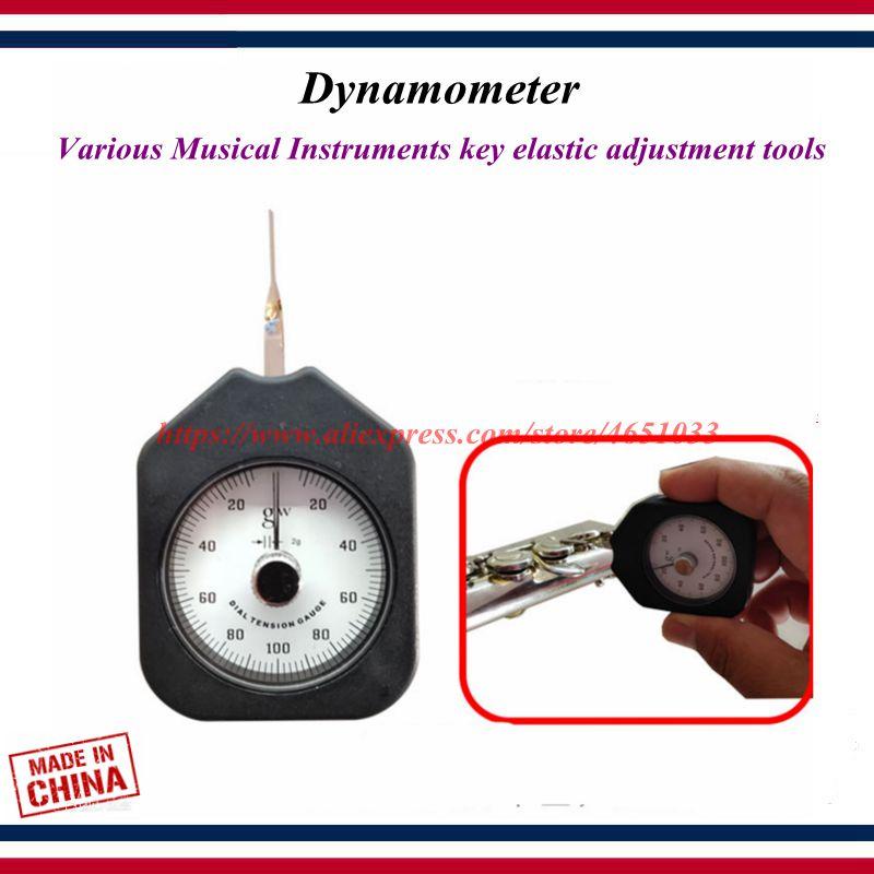 Wind Instrument Repair Tool   Flute Repair Tools   Various Musical Instruments Key Elastic Adjustment Tool  Dynamometer
