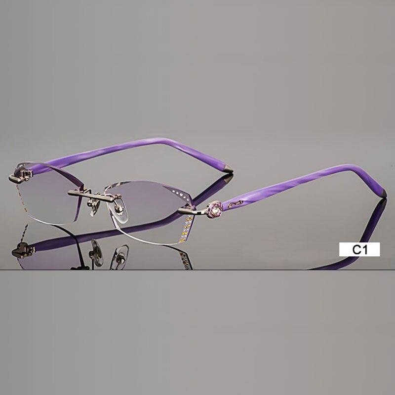 B002 бриллиантты сәнді көзілдірік, - Киімге арналған аксессуарлар - фото 2
