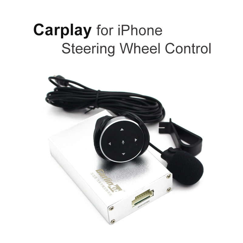 Carlinke Carplay Box Steering wheel Control for ES IS series RAV4 PRADO Car Voice Control Miracast