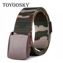 Moisture-Wicking Canvas Men Belt Military Outdoor Tactical Canvas Belt for Men Women Children Belt TOYOOSKY цена