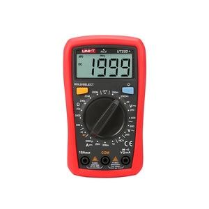 Image 3 - Mini multímetro digital ncv UNI T ut33d +, mini multímetro digital 600v ncv tamanho da palma do tamanho manual ac dc voltímetro e amperímetro, testador de resistência capatitance