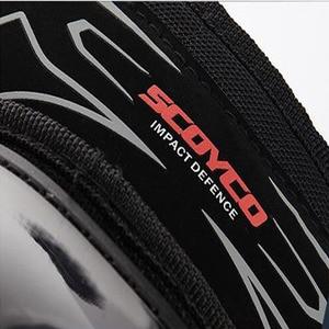 Image 2 - 오토바이 Kneepad K11 SCOYCO H11 Motocross 모터 나이트 안티 가을 승마 보호 장비 무릎 패드 PE 쉘 protetor K
