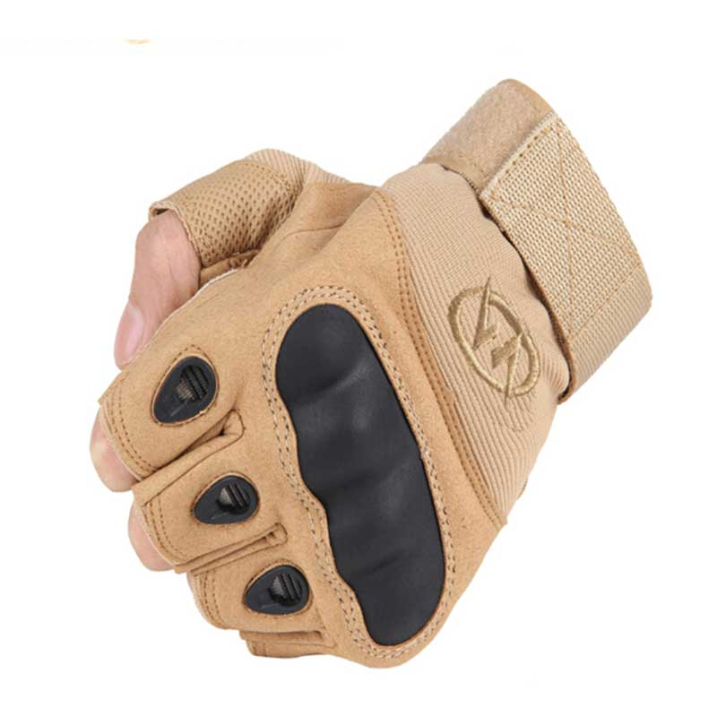 NMSAFETY Outdoor Military Airsoft Hunting Paintball Cycling Army Tactical Half Finger Gloves new military tactical full finger gloves safety gloves for outdoor sports hunting cycling airsoft cs paintball tactical gloves