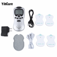 YihCare 4 Electrode Tens Acupuncture Digital Therapy Machine Massager Electronic Pulse Back Pain Relief Body Slimming