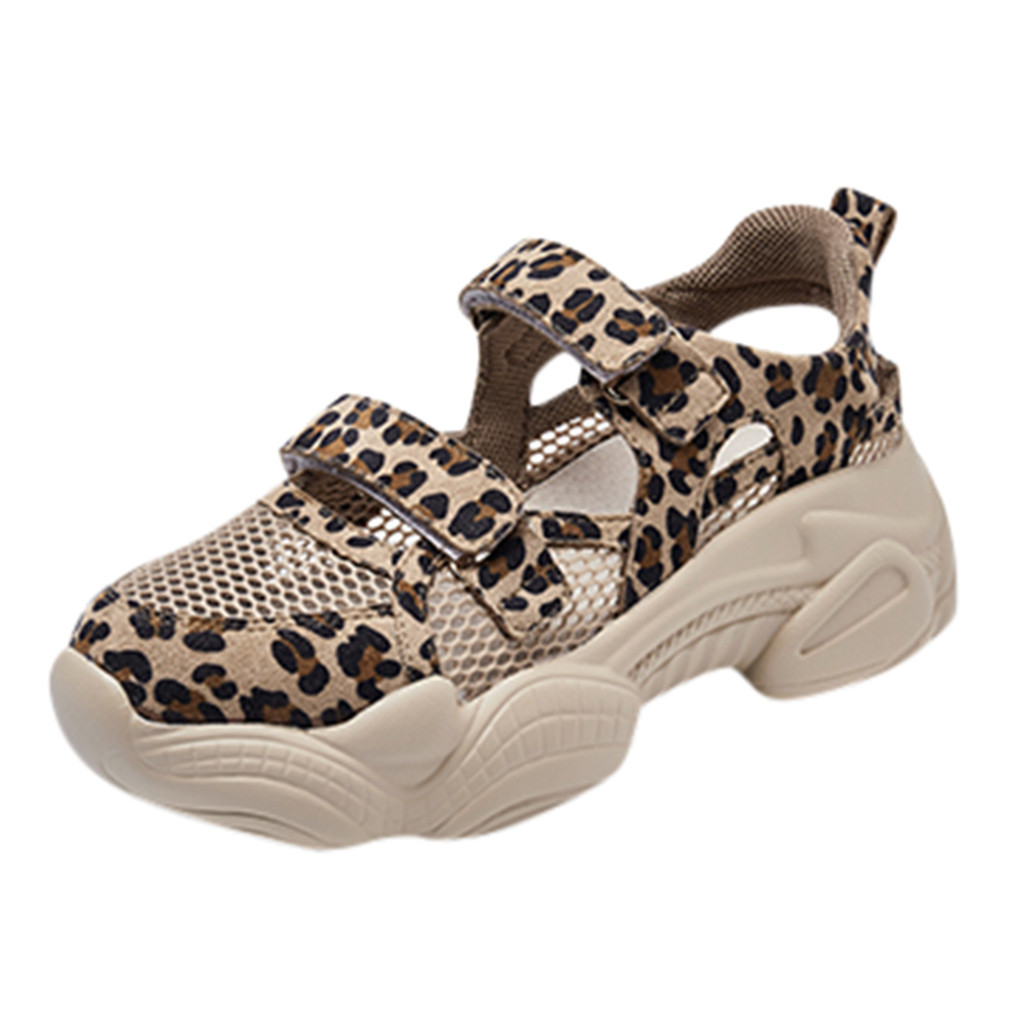 SAGACE Casual Shoes Summer Leopard Sneakers Mesh Thick-Soled Hollow Sport Shoes Hook Loop Fashion Wedges Spring shoe hot  May 29SAGACE Casual Shoes Summer Leopard Sneakers Mesh Thick-Soled Hollow Sport Shoes Hook Loop Fashion Wedges Spring shoe hot  May 29