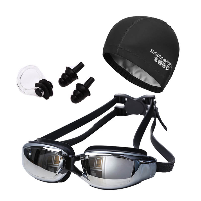 f4b172b34ecd2 Novas Mulheres Homens Anti Fog Proteção UV Surf Óculos Profissionais Óculos  de Natação Óculos de Natação