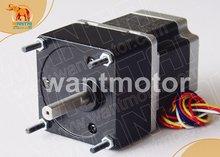 Новинка! Wantai шаговый мотор Двигатель 57BYGH627AG15 с соотношением сторон 1:15 3A 3000oz-in ЧПУ RepRap 3D-принтеры
