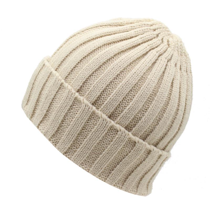 قبعة صوف رجالي دافئة 7