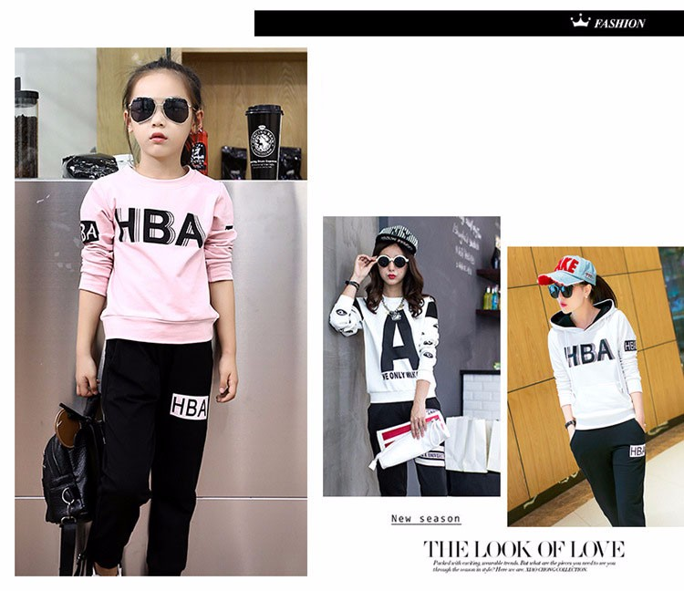 little teenage girls clothes sports suits girls outfits tracksuit autumn spring letters tops t shirts black pants tracksuits girls sets 5 6 7 8 9 10 11 12 13 14 15 16 years old little big teenage girl children sport sets clothing set for gir (8)
