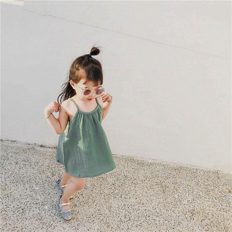 dziewczynka letnia słodycze kolor sukienka vestido infantil - Odzież dla niemowląt - Zdjęcie 3