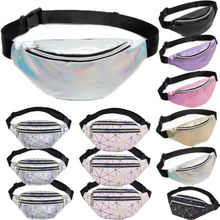 Women Girls Waist Fanny Pack Belt Bag Pouch Travel Hip Bum Bag Women Small Purse 2019 new women travel girls sequins waist fanny pack belt bag hip bum bags small purse chest phone pouch
