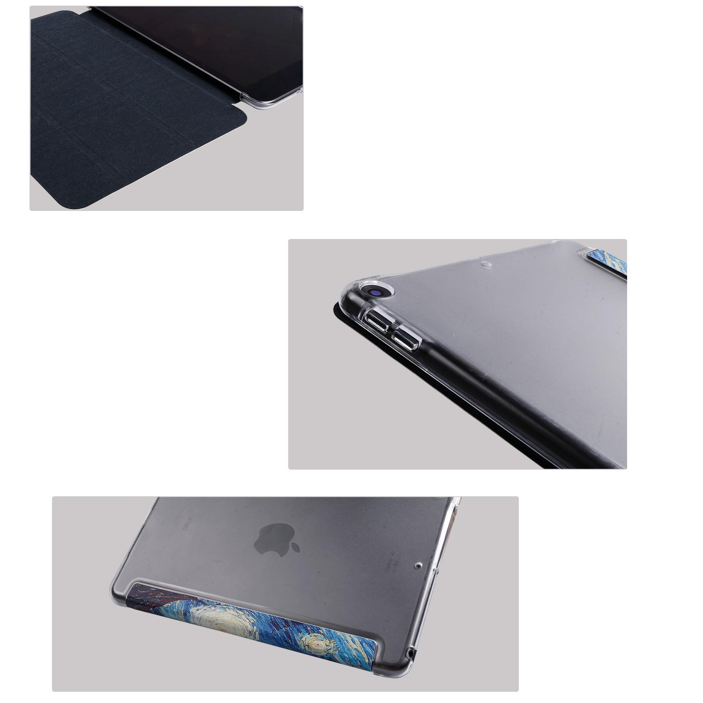 Tablet flip case voor Huawei MediaPad M5 Lite 10.1 schilderen Smart wake Sleep fundas fold Stand cover capa tas voor BAH2 W19/L09 - 5
