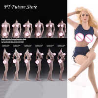 S20A/S22A/S23B/S18A/S19B/S21B 1/6 Scale Female Body Super-Flexible Seamless Body for 12'' Action Figure