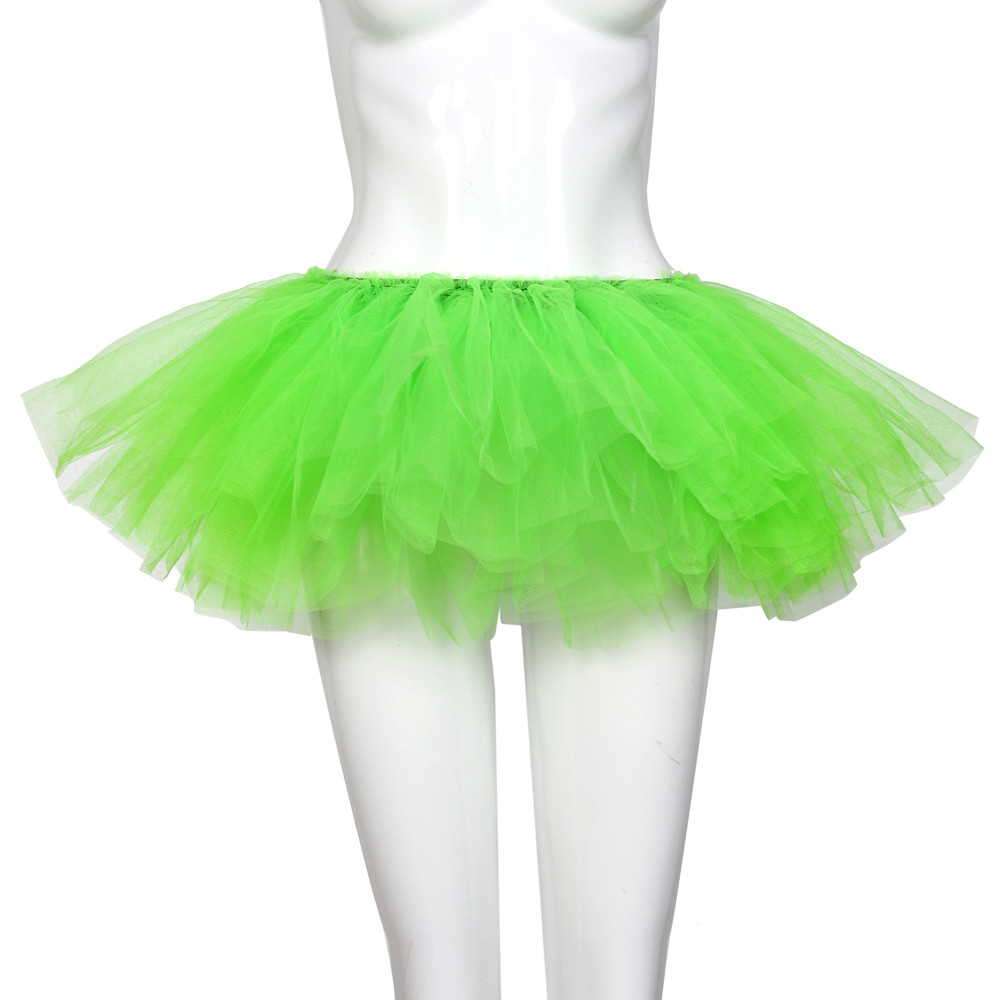 2019 MAXIORILL NEW Hot Sexy Fashion Pretty Girl Elastic Stretchy Tulle Adult Tutu 5 Layer Skirt Wholesale T4 75