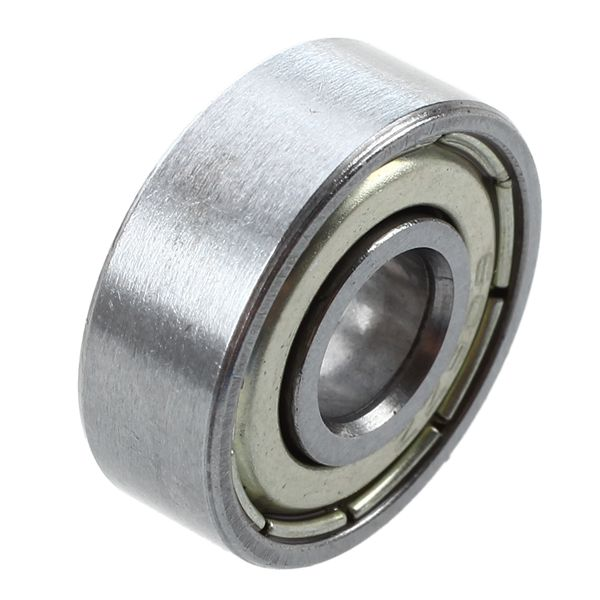 10 Pcs 17mm x 6mm x 6mm Single Row Shielded Deep Groove Ball Bearing 606ZZ 6007rs 35mm x 62mm x 14mm deep groove single row sealed rolling bearing