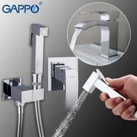 GAPPO Bidets ванная комната мусульманский душ кран Биде опрыскиватель сопла для ванной на бортике раковина кран смеситель воды краны