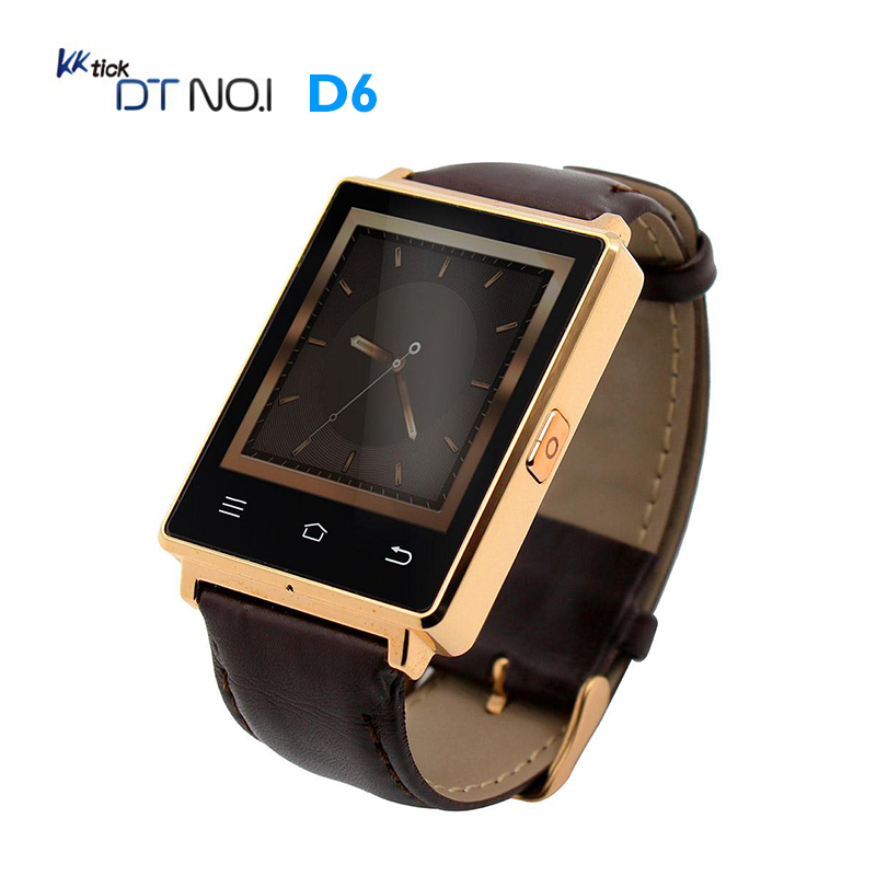 NO.1 D6 Smart Watch Android 5. 1 3G Smartwatch Phone MTK6580 Quad Core GPS WiFi Bluetooth 4.0 Wearable Devices For Men and Women no 1 d5 smart watch android 4 4 3g smartwatch phone mtk6572 quad core bluetooth 4 0 wearable devices for men and women