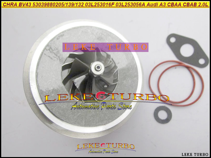 VW Audi Skoda 2.0 TDI BV43 53039880139 53039880132 Turbo Cartridge CORE CHRA
