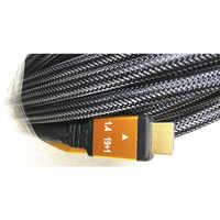 HDMI 1.4V HDMI cable 25M/30M/50M 33ft with Mesh&metal shell Triple-shielded&braided 19+1 conductors 3D&up to 4KX2K