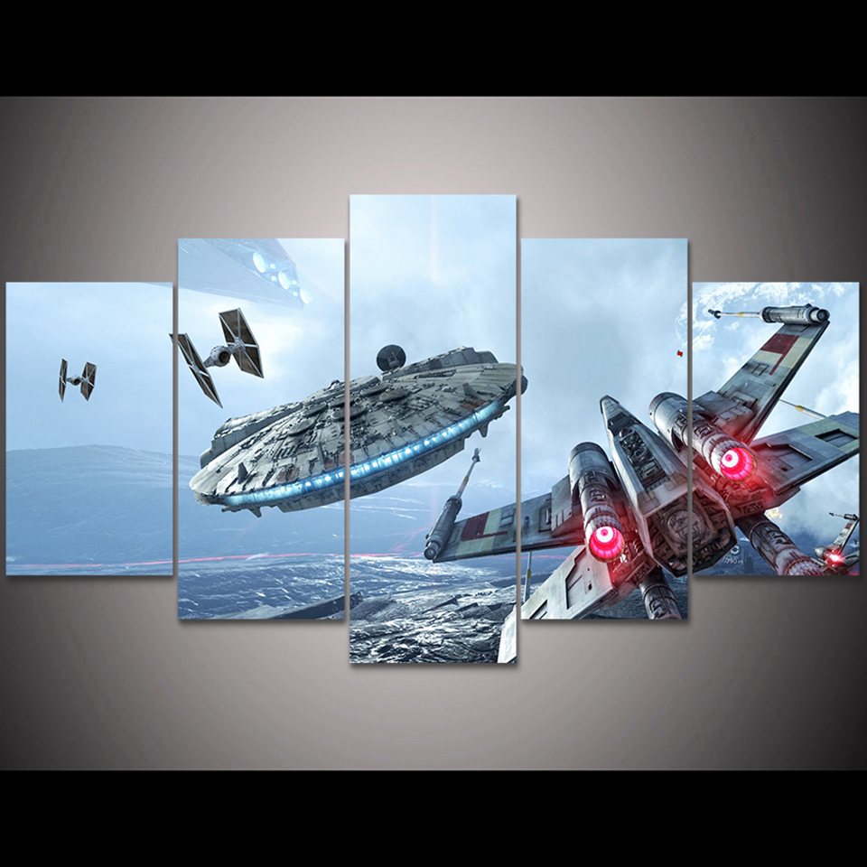 5 Pieces Star Wars Movie Posters 24
