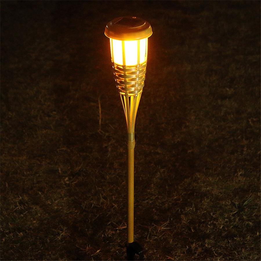 handmade outdoor lighting. aliexpresscom buy beiaidi 10pcs solar spike spotlight lamps handmade bamboo tiki torches light outdoor garden landscape lawn with stake from lighting t
