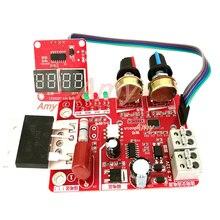 Controlador de tiempo de soldadura puntual y corriente panel de control corriente de sincronización con actualización de pantalla digital 100A