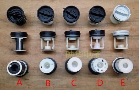 washing machine drain pump output filter net type A 1pcs for washing machine filter drainage pump cover filter waste water cap filter plug