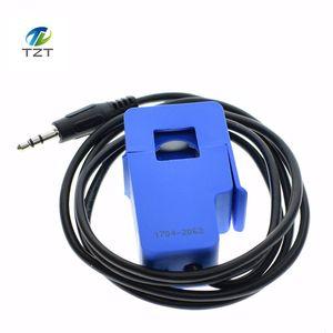 Image 3 - Capteur de courant alternatif 100A de transformateur de courant alternatif de noyau fendu Non invasif de 5 pièces SCT 013 000
