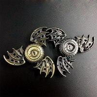Cool Game Of Thrones EDC Fidget Toys Dragon Eyes Hand Finger Tri Fidget Spinner Funny Toy
