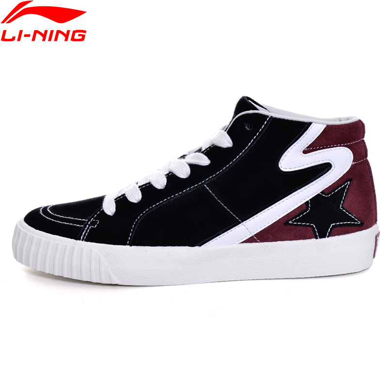Li-Ning Women Back Star HI Sports Life Walking Shoes TFitness Sneakers Soft Comfort LiNing Sports Shoes GLKM176 YXB094