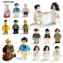 Smartable 12pcs/lot Building Blocks Figures brick DIY toys Compatible Legoing Figures soldier 12 occupations 1605