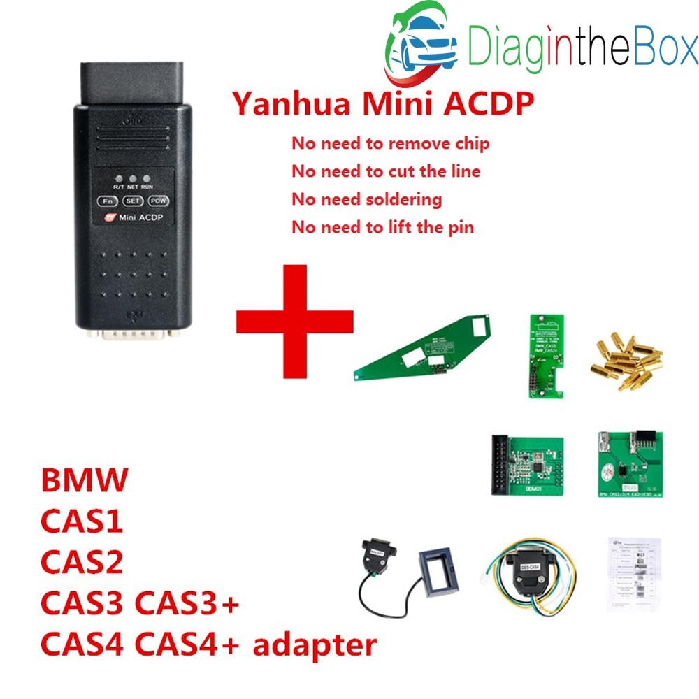 2018 hot Yanhua ACDP master for BMW FEM BDC CAS3 CAS4 CAS4+ key programming  mileage reset
