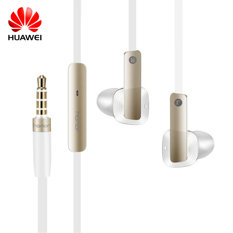 Huawei Wire Sport Headsets In Ear Earphone with Earbuds Super Bass Headset for Mobile Phone Computer Gaming Business Honor AM175 plextone x46m in ear earphone removable metal 3 5mm stereo bass earbuds gaming headset with mic for computer phone iphone sport